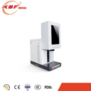 Hot Sale Portable 20W Fiber Laser Marking Machine pictures & photos