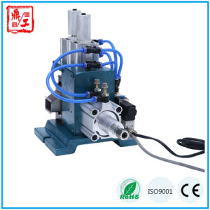 Vertical Semi Automatic Multi Core and Electric Cable Stripping Machine pictures & photos