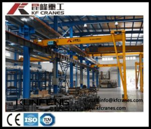 Steel Semi-Gantry Crane with One Leg Used in Inside and Outside pictures & photos