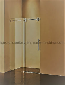 Na-04-D Double Roller Sliding Shower Door