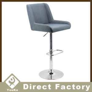 Stupendous Fabric Industrial Chrome Swivel Bar Stool For Heavy People Ncnpc Chair Design For Home Ncnpcorg
