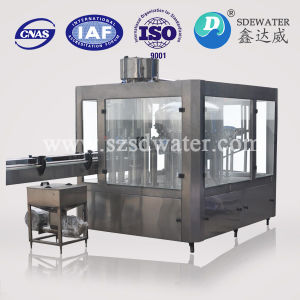 Automatic 3-in-1 Pet Bottle Liquid Filling Machine pictures & photos