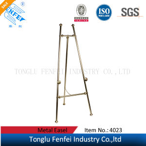 Brass Plated Display Metal Easel pictures & photos