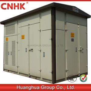 Photovoltaic and Wind Power Generation Combined Type Substation pictures & photos