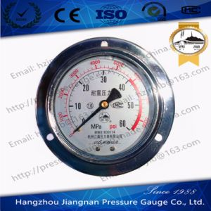 60MPa Vibration Proof High Pressure Gauge pictures & photos