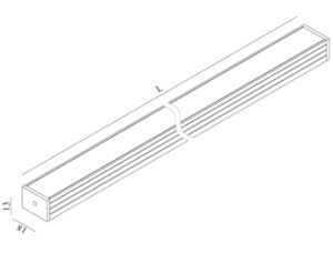 LED Ligthing Bar Tube for Commerical decoration pictures & photos