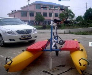 Single and Double Person Pedal Water Cycle Bike