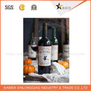 Decal Kraft Paper Metal Label Printing Adhesive Wine Bottle Sticker pictures & photos