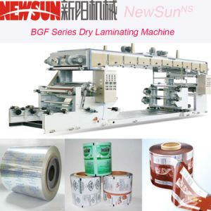 Bgf Series Paper-Plastic Dry Lamination Machinery pictures & photos