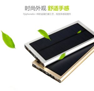 Fashion Trending Charger Solar Power Bank IP67 with Flashlight pictures & photos