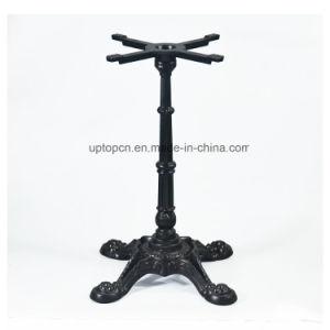 China Black Cast Iron Restaurant Table Base With Prongs SPMTL - Cast iron restaurant table bases