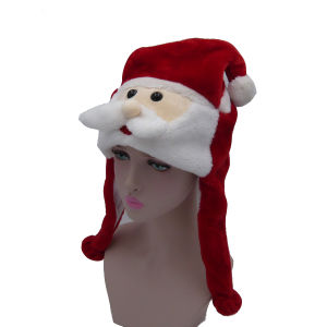 Visual Christmas Warm Plush Animal Hat