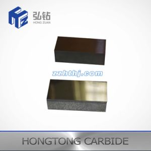 Tungsten Carbide Plate with One Face Grooved pictures & photos