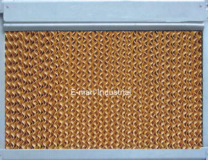 Water Cooling System Evaporative Cooling Pad with Aluminium Frame pictures & photos