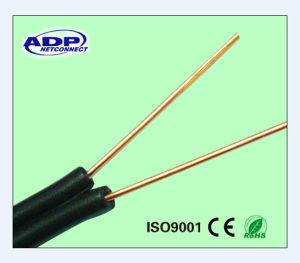 China 2 Core Copper Telephone Drop Wire Cable - China Figure 8 ...