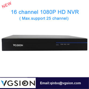 16 Channel 1080P HD Network Video Recordernvr HDMI Network Video Recorder (Max. support 25 channel)