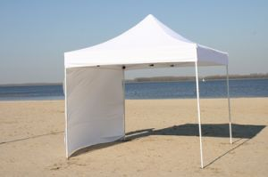 Folding Pop up Carport Outdoor Canopy Folding Gazebo with Sidewall pictures & photos