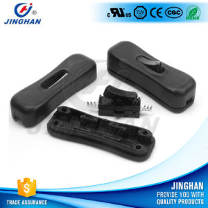 Jinghan Kcd1-304 Arc-Shaped Button Oval Inline Rocker Switch pictures & photos