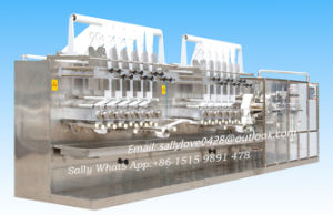 Full Automatic Wet Tissue Folding and Cutting Machine for Baby Wet Wipes (HM-ZD1280A)
