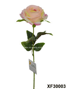 Artificial/Plastic/Silk Flower Single Stem of Rose (XF30003) pictures & photos
