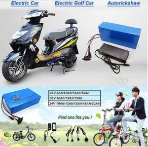Lithium Ion Battery 60V 20ah Lithium Battery for Electric Scooter Harley Car pictures & photos