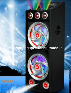 Professional Active Speaker with 2 Acoustic Control Laser Lights (DJ-2862)