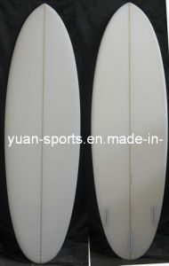 EPS Pointy Surfboard with Clear Surface Egg Board
