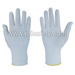 Cut Resistant Work Glove with White PU Coated (PD8025) pictures & photos