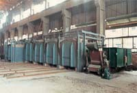 Assembled Coal-Fired Car Type Heat Treatment Furnace