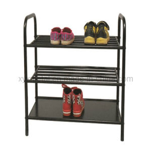 Steel Structure Heavy Duty Black Metal Shoe Rack pictures & photos