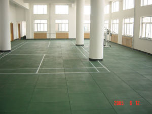 Indoor Plaground Tile/Playground Rubber Tile/ Playground Rubber Floor pictures & photos