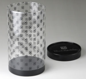 Clear plastic cylinder tubes (PET round box) pictures & photos
