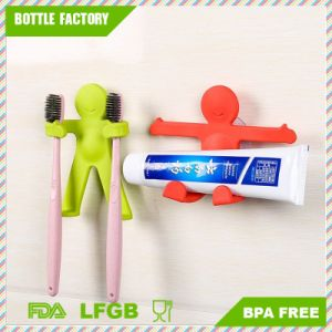Little Man Shaped Toothbrush Holder Plastic Toothbrush Storage Rack  Toothbrush Holder With Suction Cup