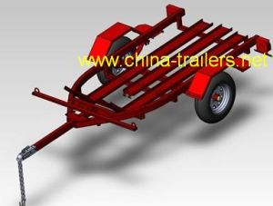 Motorcycle Trailer (TR0607) --Powder Coated pictures & photos