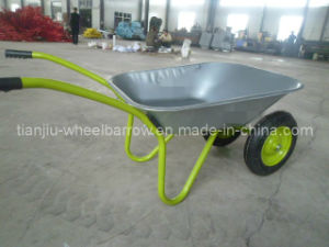 Russia Market Zinc Tray Wheelbarrow (Wb6203A) pictures & photos