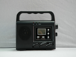 Hotsale Solar Dynamo Flashlight Radio pictures & photos