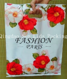 Customize Plastic PE Die Cut Bag for Garment Packing