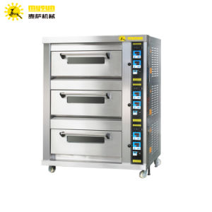3 Decks Bread Oven /Commercial Bakery Deck Oven