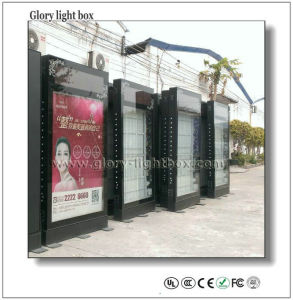 LED Rotating Letter on Top Advertising Scrolling City Light Box pictures & photos