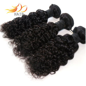 Unprocessed 8A Virgin Human Hair Jerry Curl Natural Color Dyeable pictures & photos