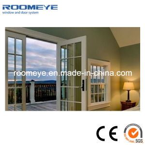PVC Window PVC Casement Door American Style pictures & photos