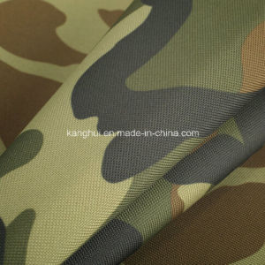 210d Waterproof Oxford PE PU PVC Coated Camouflage Fabric for Bag