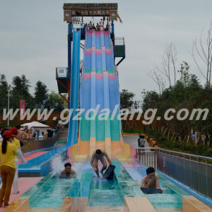 Three Colors Rainbow Water Slide (DL: WS-1212)