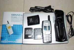 Senao Sn-6610 Long Distance 15km Cordless Telephone for Duplex Intercom pictures & photos