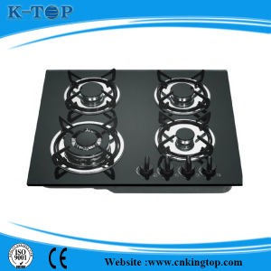 4burner Indoor Built in Gas Cooker