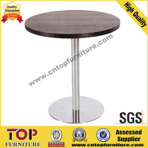Round Stainless Steel Coffee Table pictures & photos