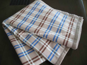 Merino Virgin Fine Wool Blanket (NMQ-WT002) pictures & photos