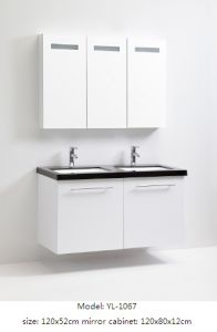 Sanitary Ware Bathroom Furniture with Mirror Cabinet