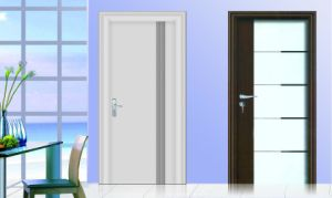 High Gloss White New Wood Door Wooden Furniture Interior Door