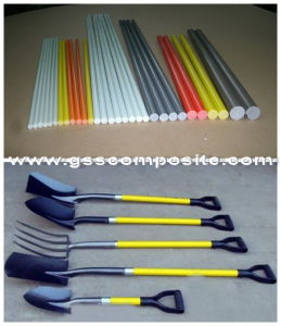 Pultrusion High Strength Fiberglass Rod for Tool Handle